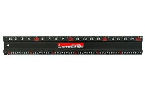 シンワ測定 アルミカッター定規 カット師EX 60cm 併用目盛 65030