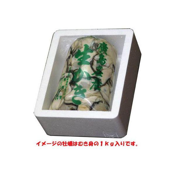 送料無料 広島生牡蠣 むき身1kg入り 直送 ギフト箱入 02P03Dec16
