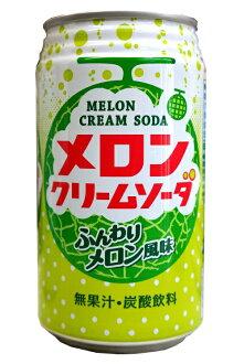 神户居留地哈密瓜奶油苏打罐48(2箱)种富永食品株式会社02P03Dec16