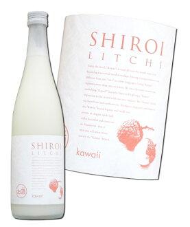 白色的荔枝kawaii SHIROI LITCHI 720ml中国酿造02P03Dec16