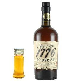 【量り売り】ジェームス E ペッパー 1776 ライ 50度 30ml ウイスキー お試し