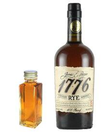 【量り売り】ジェームス E ペッパー 1776 ライ 50度 100ml ウイスキー お試し