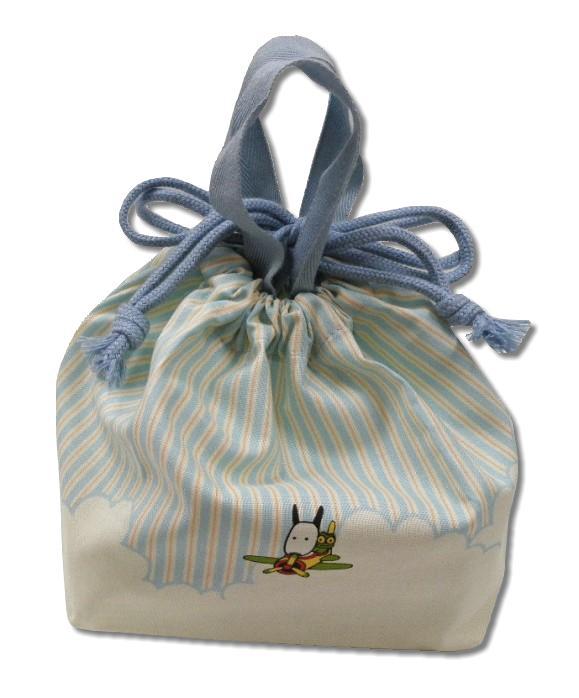 バムとケロ ランチ巾着 【ランチ巾着】 【お弁当袋】 【バムとケロ】 【バムケロ】 【バム ケロ】 【キャラクターグッズ】 【RCP】