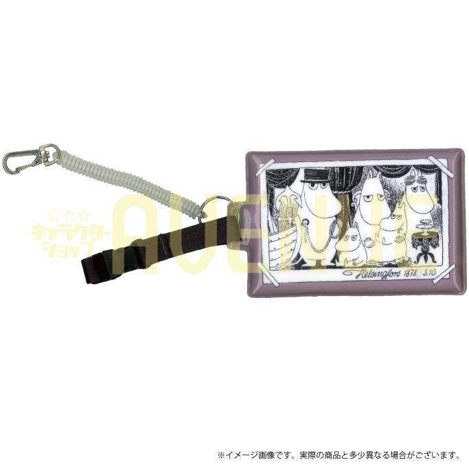 ムーミン ビニールパスケース(ファミリー)MOM-051 【Moomin】 【むーみん】 【キャラクターグッズ】 【RCP】