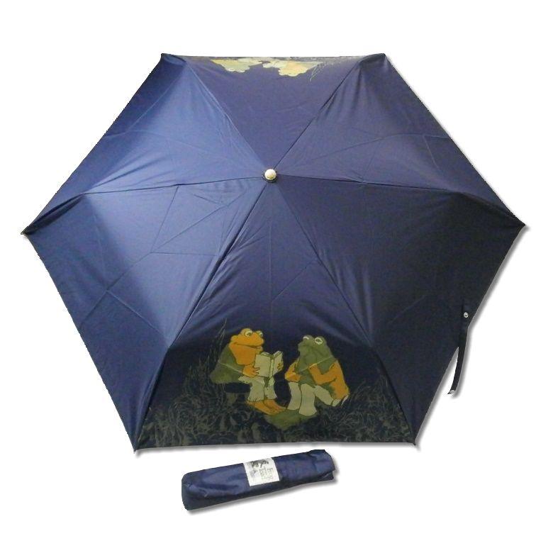 がまくんとかえるくん 晴雨兼用折りたたみ傘 23050 [メール便(ゆうパケット)非対応商品] 【傘】 【かさ】 【日傘】 【がまくん】 【かえるくん】 【キャラクターグッズ】 【RCP】