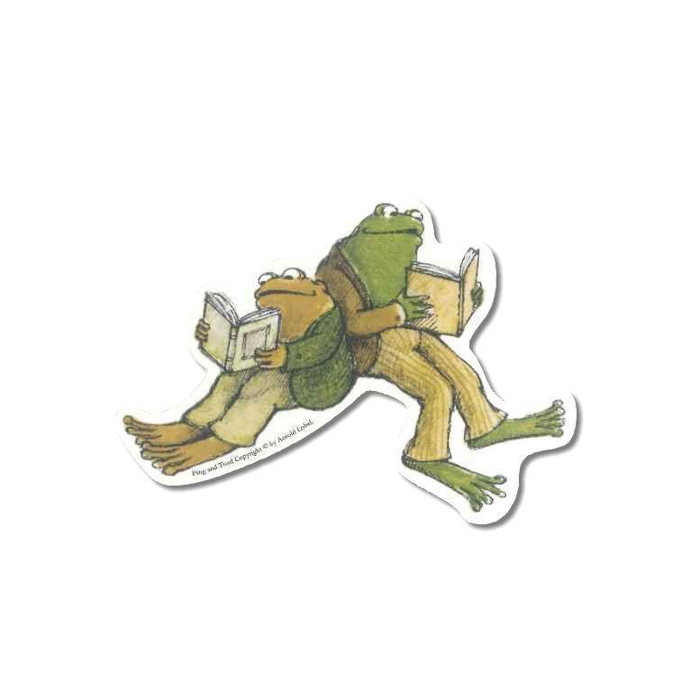 がまくんとかえるくん ダイカットシール B 2487 【がまくん】 【かえるくん】 【キャラクターグッズ】 【RCP】
