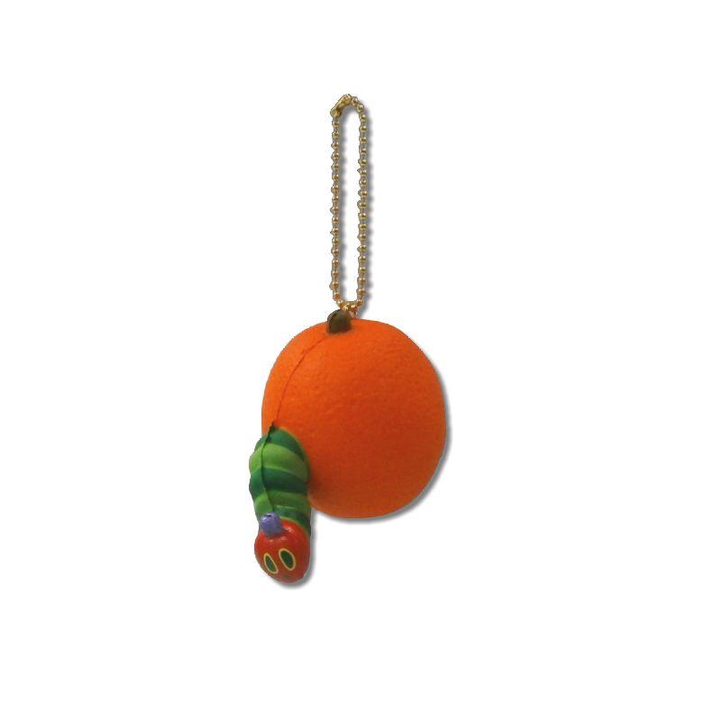 はらぺこあおむし ぷにぷにマスコット オレンジ HA03-3 [メール便(ゆうパケット)非対応商品] 【マスコット】 【スクイーズ】 【はらぺこあおむし】 【エリック・カール】 【はらぺこ】 【あおむし】 【キャラクターグッズ】 【RCP】