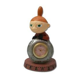 ムーミン ジオラマ置時計 リトルミイ 20389 [メール便非対応商品] 【キャラクターグッズ】