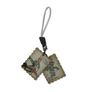 星の王子さま 切手ストラップ 正装(白) 7526 [追跡可能メール便(送料200円)対応商品] 【キャラクターグッズ】