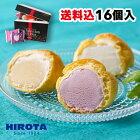 シューアイス スイーツ アイス 詰め合わせ 16個入 9種類 洋菓子のヒロタ HIROTA アイスクリーム おやつ デザート バニラ チョコレート 苺 抹茶 ラムレーズン クッキー&クリーム カスタード ヨーグルト レモン 送料込