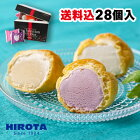シューアイス スイーツ アイス 詰め合わせ 28個入 9種類 洋菓子のヒロタ HIROTA アイスクリーム おやつ デザート バニラ チョコレート 苺 抹茶 ラムレーズン クッキー&クリーム カスタード ヨーグルト レモン 送料込
