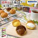 シュークリーム 5箱セット ( 1箱4個入 ) 送料込 父の日 感謝 おうち時間 スイーツ 詰め合わせ 洋菓子のヒロタ HIROTA …