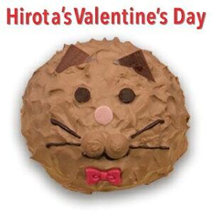 冷凍ケーキ ねこのミルフィーユ ( くろねこ ) バレンタイン スイーツ 洋菓子のヒロタ HIROTA ミルフィーユ デザート お菓子 おやつ チョコレート ホイップクリーム シューケーキ 猫 ネコ 黒猫