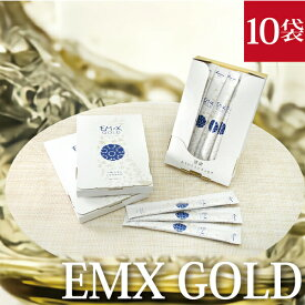 EMX GOLD 10ml×10包 健康飲料