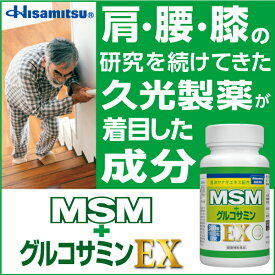 【サロンパスの久光製薬からご提案!】MSM+グルコサミンEX 300粒