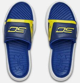 Under Armour アンダーアーマー UA Curry 6 Slides カリー VI サンダル バスケットボール メンズ 取り寄せ商品