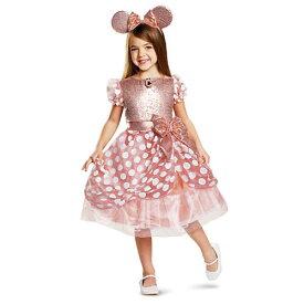 Disney Minnie Mouse Costume ディズニー ミニーマウス ドレス カチューシャ セット キッズ ガール 取り寄せ商品
