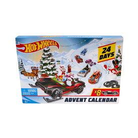 Hot Wheels ホットホイール Advent Calendar Vehicles ミニカー アドベントカレンダー キッズ 取り寄せ商品