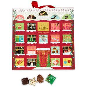 Godiva ゴディバ Chocolate Advent Calendar チョコレート アドベントカレンダー 取り寄せ商品