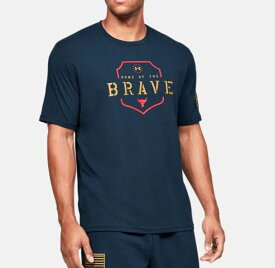 Under Armour アンダーアーマー UA Freedom x Project Rock Home Of The Brave T-shirt 1346106 フリーダム x プロジェクト ロック ホーム オブ ザ ブレイブ Tシャツ メンズ 取り寄せ商品