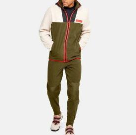 Under Armour アンダーアーマー UA Trek Polar Fleece Full Zip Hoodie x Jacket Set Up UA トレック ポラー フリース フルジップ フーディ x パンツ セットアップ バスケットボール メンズ 取り寄せ商品