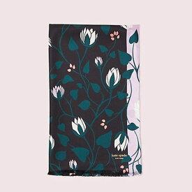 Kate Spade New York ケイトスペード Deco Bloom Oblong Scarf デコ ブルーム オブロングスカーフ レディース ウーマン 取り寄せ商品