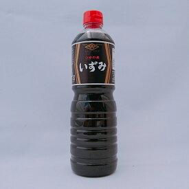いずみ1リットル つゆのもと めんつゆ かつおだしつゆ 菱山六醤油株式会社