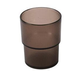 タンブラー ブラウン色 【12個セット】 業務用 割れにくい ポリカーボネート製 業務用コップ _FH70027NHB-12