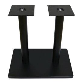 業務用 テーブルレッグ 組み立て式 テーブル用 脚 パーツ セット ダブル 取り付け用ネジ付き _TBLG0002