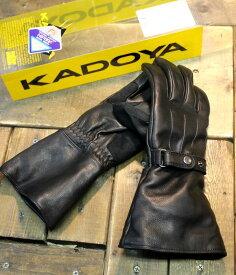 カドヤ(KADOYA) GAUNTLET-STD ガントレット-STD 防寒グローブ ゴートレザー