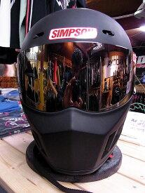 シンプソンヘルメット スーパーバンディット13 《SIMPSON SB13》M.BK