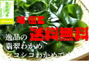翡翠わかめ(200g)×4 三陸産 湯通し 塩蔵わかめ 送料無料