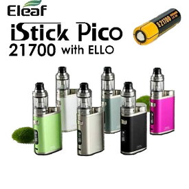 Eleaf iStick Pico 21700 100W with Ello TC Kit スターターキット バッテリー付 電子タバコ