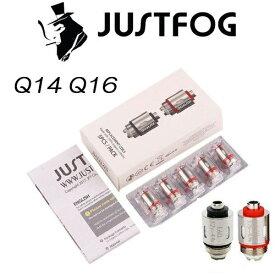 JUSTFOG Q14 Q16 P16 コイル ジャストフォグコイル 5個入り 正規品 電子タバコ