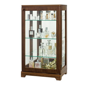 コレクションケース アンティーク調 ガラスケース 背面ミラー 高さ64.5cm