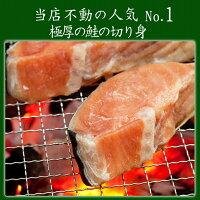 鮭シャケ甘塩シャケ身厚当店人気の鮭の切り身切りたて厚切り食べ応え抜群10枚