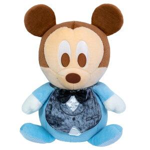ベビーミッキーマウスのフォーマル姿ウェイトドール(1体)【送料無料】両足裏刺繍入り【ウェルカムドール体重ドールディズニーDisney】【親ギフト出産祝い結婚式披露宴】