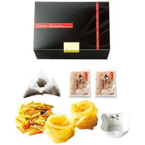 いろいろ楽しいパスタセット12Dパスタ・マカロニ・鰹節・紅茶バッグ・小鉢のギフトセット【結婚式 引出物 引き菓子 内祝い 食品 お歳暮】