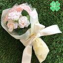 ピンクローズのキャンディーブーケ1束スティックキャンディー(苺ミルク味)10本入【結婚式 プチギフト 薔薇 花束 飴 母…