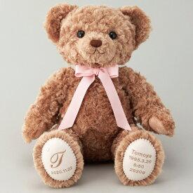 体重ベア タイニーモカ1体(完成品) 産まれたときの重さで作るウェイトドール 結婚式 花束贈呈 親ギフト 誕生日プレゼント お名入れ