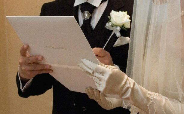 アンサンブル ホワイト(人前式結婚誓約書・チャペル式結婚証明書から選べます 結婚式 芳名帳代わりにもOK)