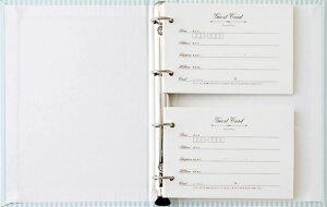 ブック型カード式ゲストブック「マイ・ストーリー」(カード60枚入り)結婚式の受付マニュアル付