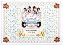 ディズニー メッセージパズルのウェルカムボード『クラシックカータイプ』(ミッキーマウス&ミニーマウス)80ピース【結婚式 寄せ書き…