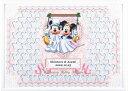 ディズニー メッセージパズルのウェルカムボード『ブランコタイプ』(ミッキーマウス&ミニーマウス)80ピース【結婚式 寄せ書き】