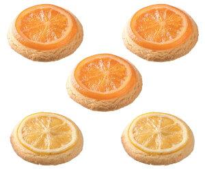 オレンジクッキー3枚入りとレモンクッキー2枚入り×1箱【結婚式 引き菓子 プレゼント バレンタインデー ホワイトデーお返しギフト】