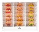 プレミアムフルーツバウムクーヘン18個のギフトセットD(とちおとめ苺バウム・さくらんぼバウム・白桃バウム・赤肉メロンバウム・マン…