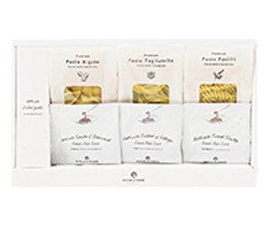 北海道産プレミアムの海鮮パスタセット3食入りBセット×1箱【結婚式 引出物 内祝い 乾麺 インスタントスープ ギフト】