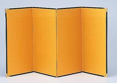 金屏風(きんびょうぶ)M(和装ウェルカムドール・和風フラワーアレンジ・お正月飾り用)