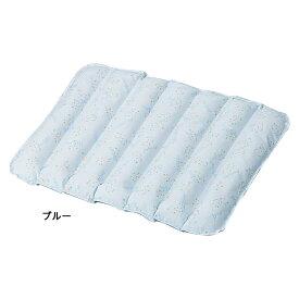 【在庫】日本エンゼル 通気ビーズマット ブルー 品番:1624 褥瘡予防 床ずれ防止 体位保持 体位変換 介護 姿勢保持 クッション