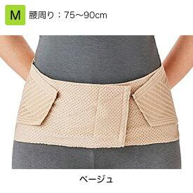 竹虎 腰部ベルト ランバックスリム  M ベージュ 品番:033963 腰部サポーター 腰痛ベルト 腰用サポーター 腰部固定帯